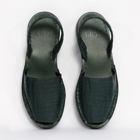Crocodilia Forest Green Goya Slide