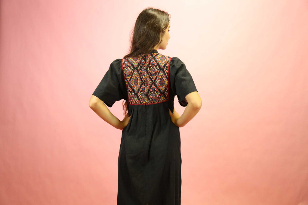 1970's Indian Cotton Tent Dress
