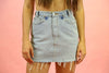 Vintage Denim Levi's Skirt Light Wash