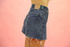 Vintage Denim Levi's Skirt Dark Wash