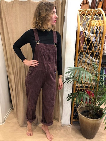Rare Long Striped Overalls