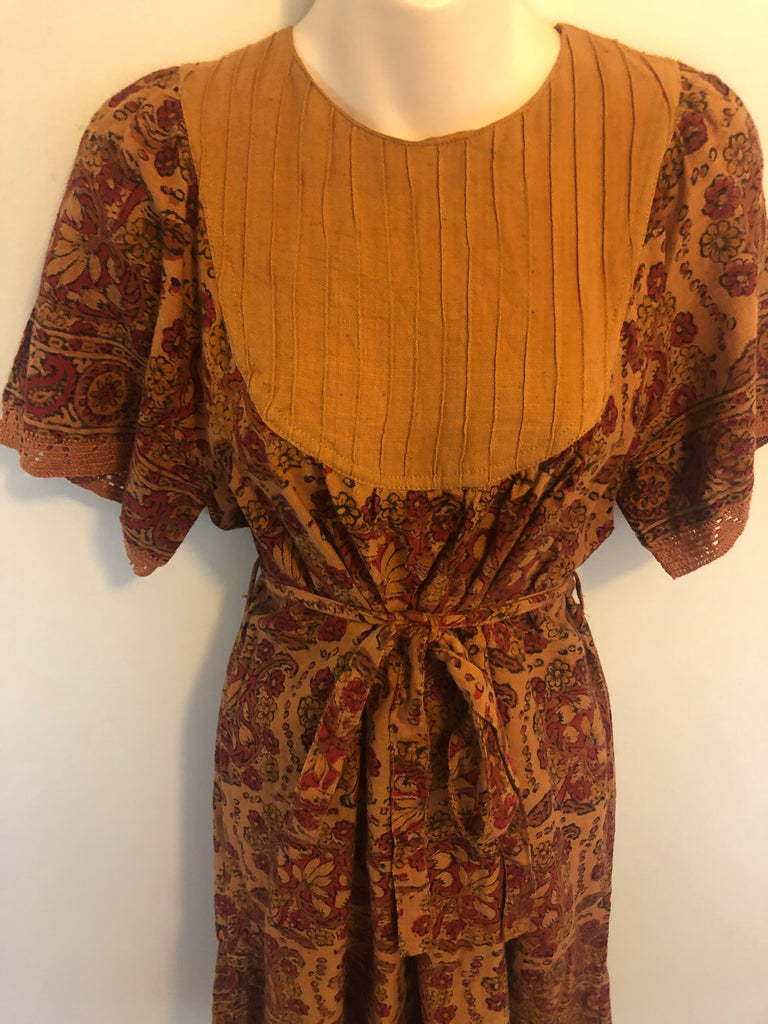 Vintage Indian Cotton Dress