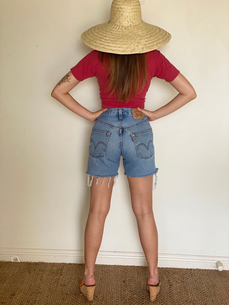 Denim Levi's 505 Shorts