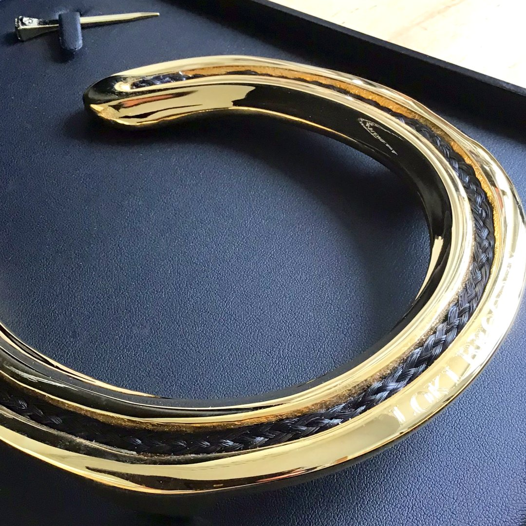 Horse Hair Horseshoe Mementoes
