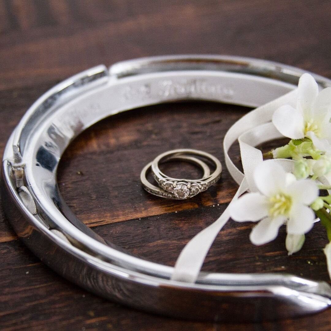 Wedding Horseshoe Mementoes