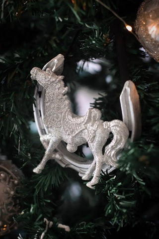 Horseshoe Mementoes Christmas decoration