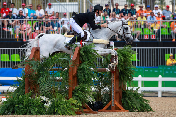 Clarke Johnstone and Balmoral Sensation at the Rio Olympics Showjumping