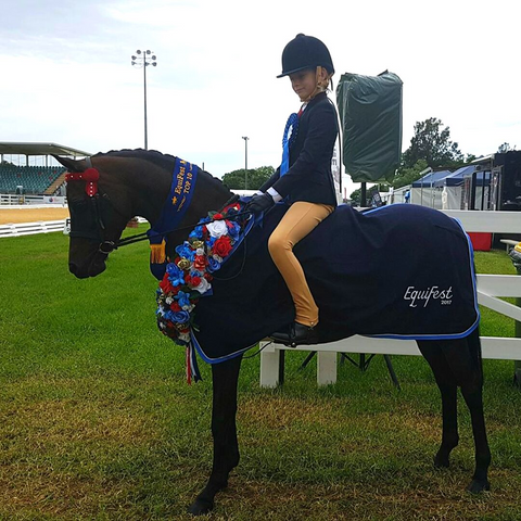 Eastdale Diva Winner Equifest First Year Ridden Pony