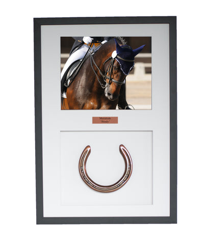 Bronze Framed Horseshoe Mementoe