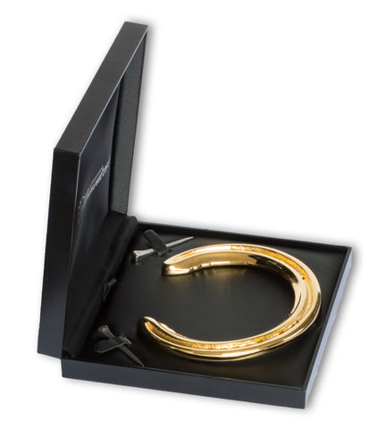 Horseshoe Mementoes 24ct Gold Plated Horseshoe