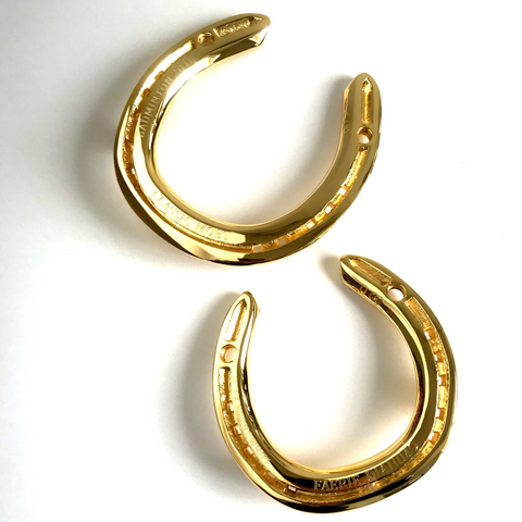 Classic Moet and Faerie Dianimo's 24ct Gold Plated Horseshoe Mementoes