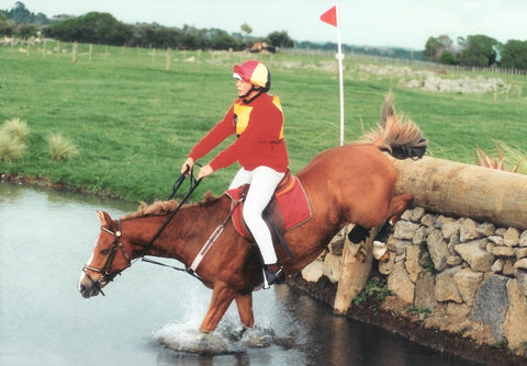 Inchcliffe Sovereign and Julia Hadley Pony Club HT Champs 1997