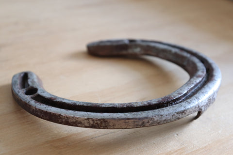 Joseph Samuel's Horseshoe Worn During Chatsworth Horse Trials 2010