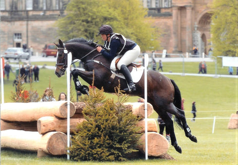 Julia Hadley and Joseph Samuel at Chatsworth Horse Trials UK 2010