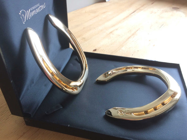 Steiny's Gold Plated Horseshoe Mementoes