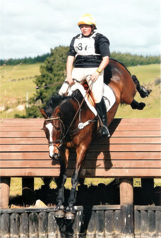 Julia Hadley and Joseph Samuel Taupo CIC3* 2009