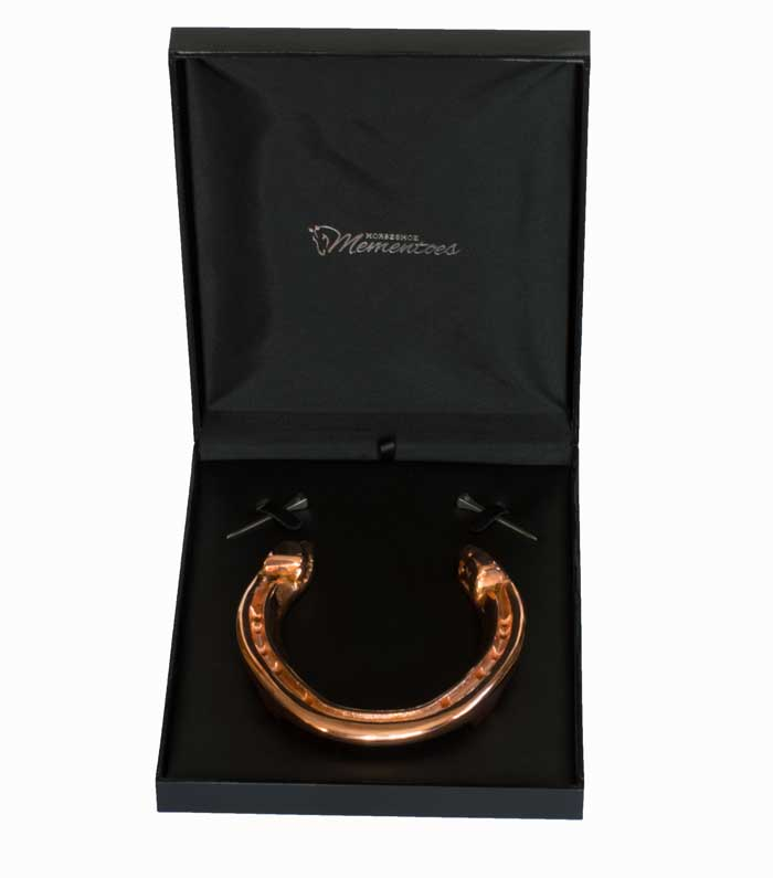 Copper Horseshoe - Horseshoe Mementoes