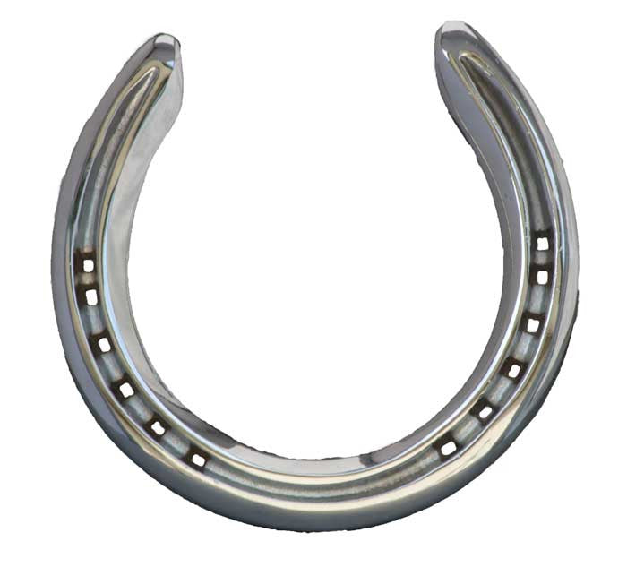 Four Framed Horseshoes - Shoe #4 - Horseshoe Mementoes