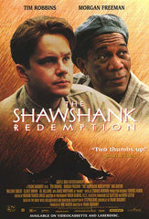 Shawshank Redemption movie t shirts