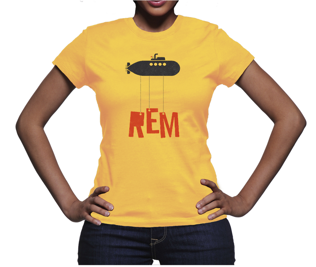 REM Band T-shirt Music Tees