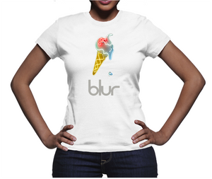 Blur T-shirt Ice Cream