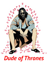 Big Lebowski Film T-shirt THE DUDE