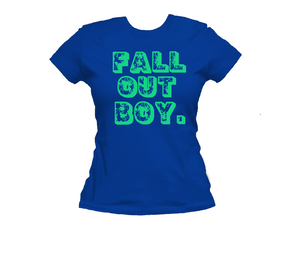 Fall Out Boy Ladies T-shirt