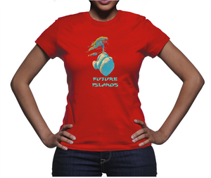 Future Islands Womens T-shirt
