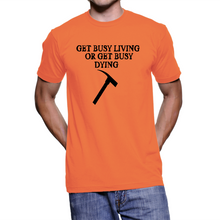 Get busy living shawshank redemption t-shirt