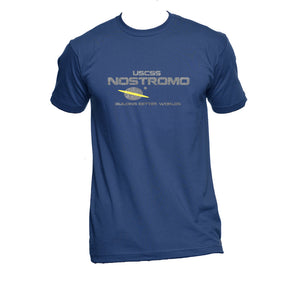 Aliens T-shirt. The Nostromo Spaceship