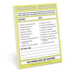 Parking Citation Nifty Note