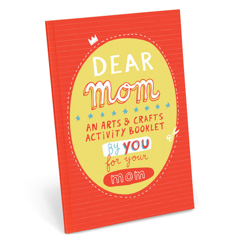 Dear Mom Activity Book