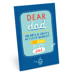 Dear Dad Activity Book