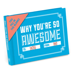 Why You're So Awesome Fill-in-the-Blank Journal