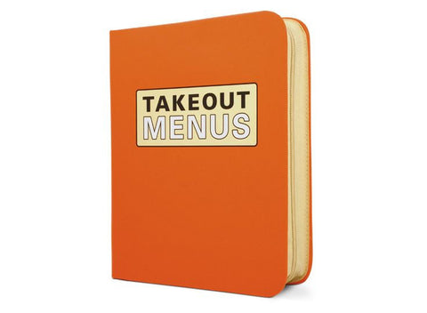 Take Out Menu Organizer