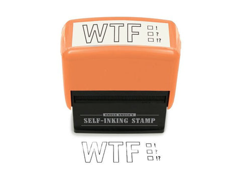 Self-Inking Stamp - WTF