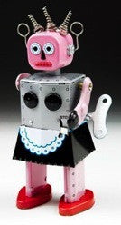 Girl Robot | Pink Maid