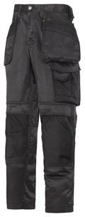 3212 (Black) Craftsmen Holster Pocket Trousers - DuraTwill