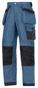 3214 (Navy) Craftsmen Holster Pocket Trousers - Canvas