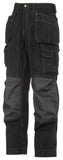 3223 (Black-Solid) Floorlayer Holster Pocket Trousers - Rip-Stop