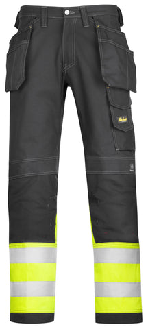 3235 Hi-Vis Holster Pocket Cotton Trousers