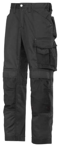 3311 (Black-Solid) Craftsmen Trousers - CoolTwill