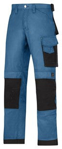 3312 (Chili and Ocean/ Black-2 Tone) Craftsmen Trousers - DuraTwill