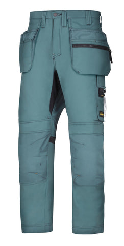 6200 (Petrol & Navy) AllroundWork, Work Trousers+ Holster Pockets