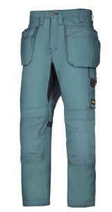 6201 (Petrol & Navy) AllroundWork, Work Trousers Holster Pockets
