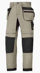 6206 (Khaki & Navy) LiteWork, 37.5® Work Trousers+ Holster Pockets