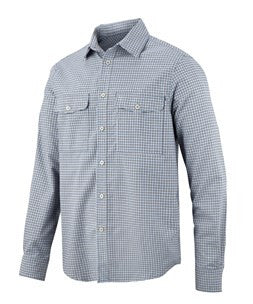 8507 AllroundWork, Comfort Checked LS Shirt