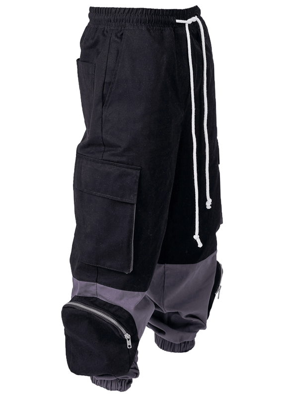 Cargo Pants - Two Tone Grey