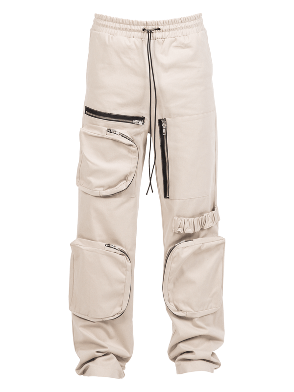 Retro Work Pants - Stone