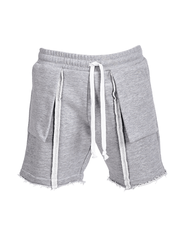 DIY Shorts - Heather Grey